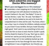 Tom Baker's wonderful response…