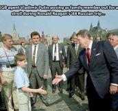 Vladimir Putin in the '80s…