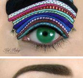 Imaginative makeup art…