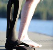 Stunning prosthetics…