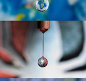 Water drop art…