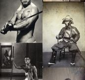 Real life samurais…