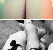 Disney inspired tattoos…