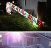 Awesome decoration for Christmas…