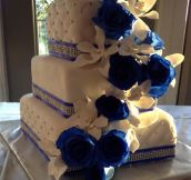 Awesome wedding cake…