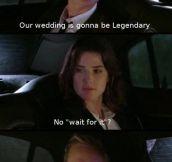 Legendary scene…