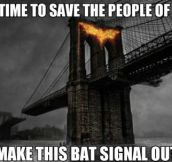 Bad guy Batman…