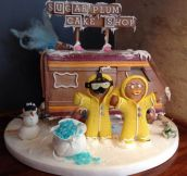 Breaking Bad Gingerbread house…