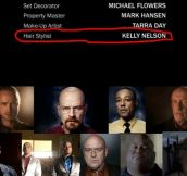 Easiest job in Breaking Bad…