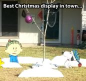 Creative Christmas display…