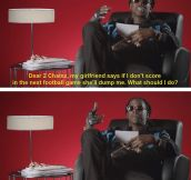 True love with 2 Chainz…