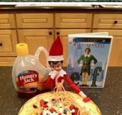 Adventures of Elf on the Shelf…