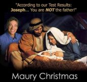 Maury Christmas everyone…