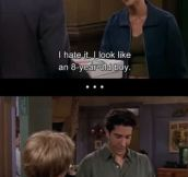 Ross Geller is a hell of a sweet talker…