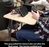 Gaming after finals…