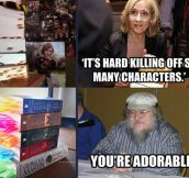 Deaths in Harry Potter vs. Deaths in Game of Thrones…