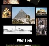 The History Channel nowadays…