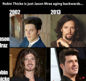 Aging backwards…