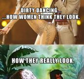 How women think they look…
