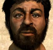 The true face of Jesus…