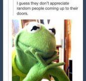 Kermit on Jehovahs witnesses…