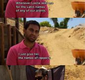 My favorite Parks and Recreation moment…