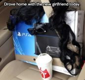 Having a girlfriend these days…