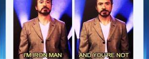 Downey Jr's best argument…