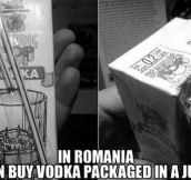 Only in Romania…