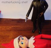 Enough with the Elf on the Shelf…