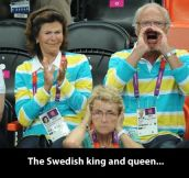 Swedish royalty…