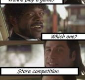 Pulp Fiction game…
