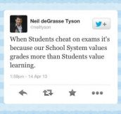 Our school system…