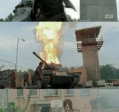 Daryl, the one man army…