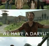 Walking Dead logic…