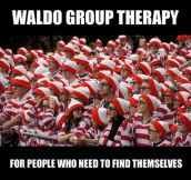 Waldo group therapy…