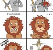The Lion should have been more specific…