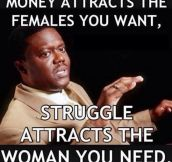 Some wisdom from Bernie Mac…