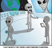 Our planet according to aliens…