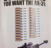 I found this in a magazine about AR's. Made my night…