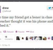 Beyond awkward…