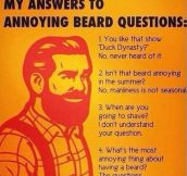 Annoying beard questions…