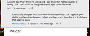 When YouTube comments are more intelligent than your government…