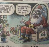Black Santa…