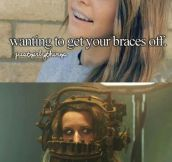 Wanting to get your braces off…