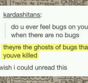 Ghosts bugs…