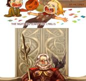 Loki's Childhood…