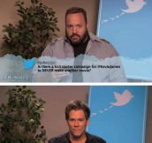 Celebrities read mean tweets…