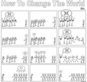 How to change the world, simple as that…