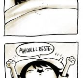 The worst way to wake up…